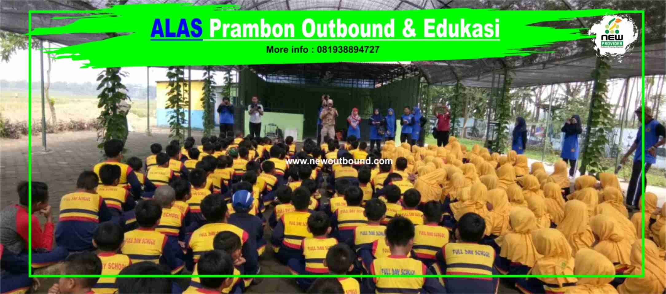 Alas Prambon outbound