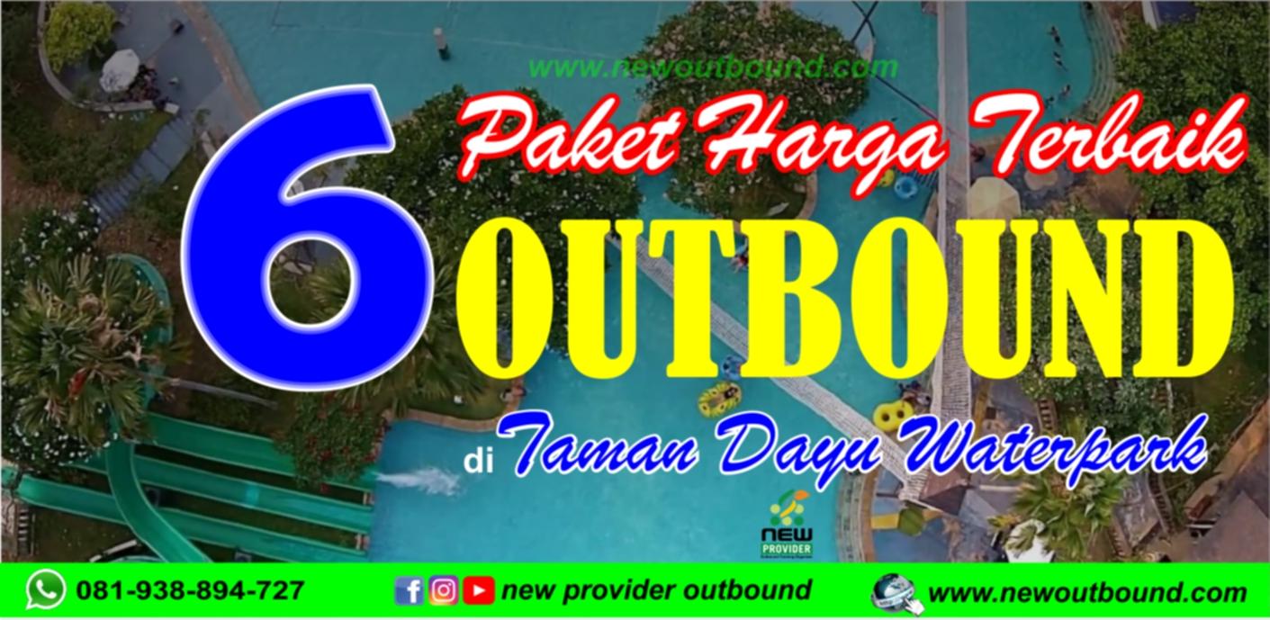 Outbound Taman Dayu Waterpark
