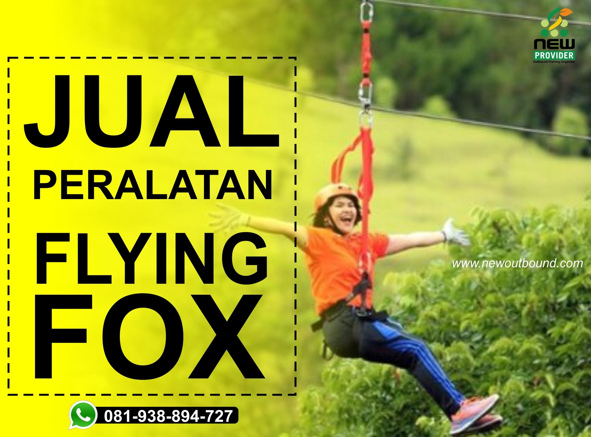 Jual alat-alat flying fox