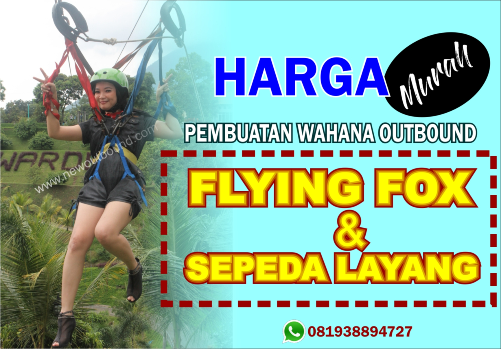 Instalasi Flying fox