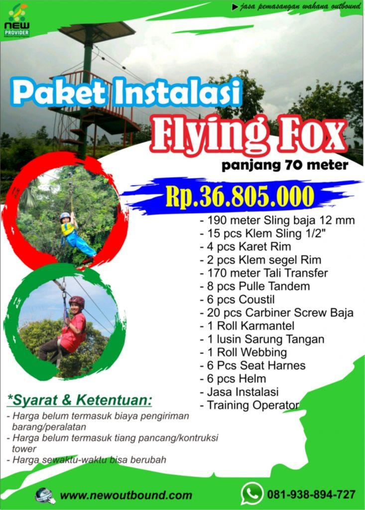Instalasi Flying fox